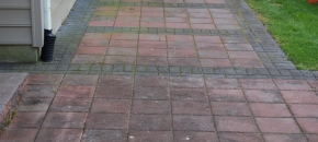 pavers before